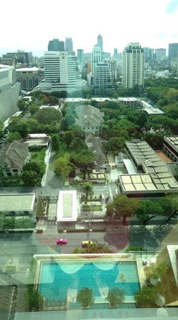 Sivatel Bangkok: View from room