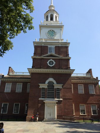 Independence Hall: From the back