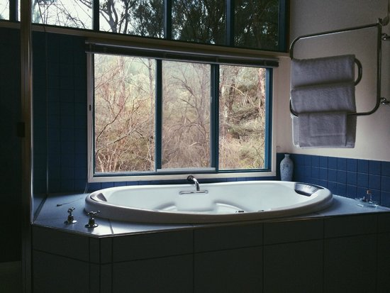 Ashwood Cottages: Bathroom with a view