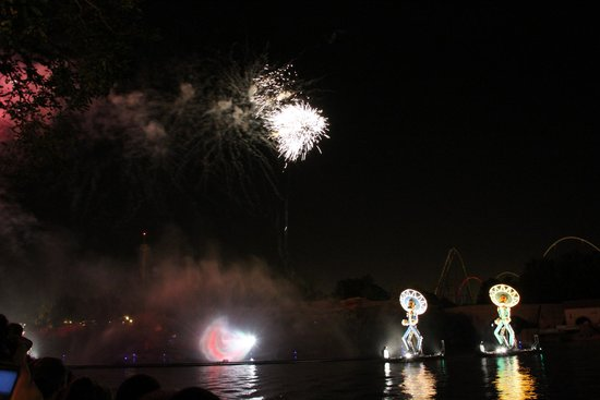 PortAventura Park: Вечерний фейерверк