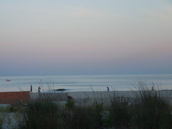 Ocean City Beach: Beautiful evening.
