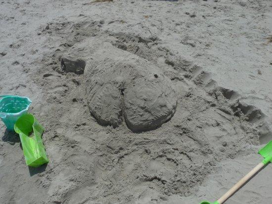 Ocean City Beach: Fun in the sand.