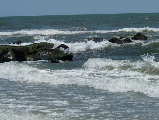 Ocean City Beach: Relaxing.