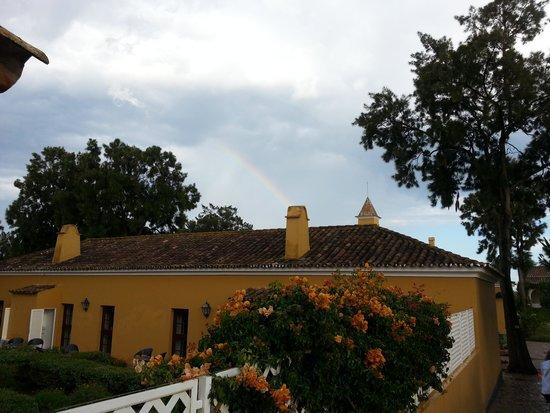 Vila Gale Albacora: W obszarze hotelu są m.in. dawna kaplica i szkoła