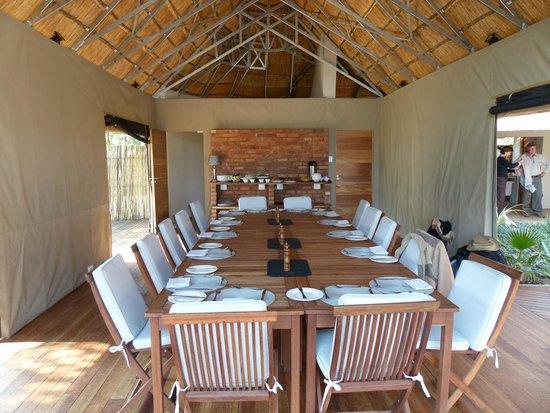 Elephant's Eye, Hwange: Dining Room