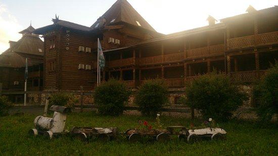 Heliopark Suzdal: Башенки вечером