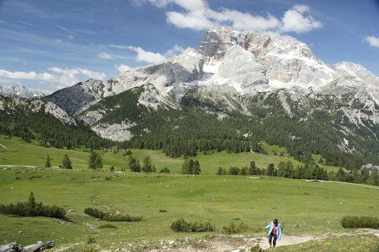 Tre Cime di Lavaredo: Blick nach Westen vom Dürrenkopf