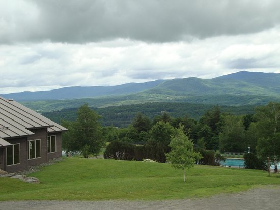 Trapp Family Lodge: View from our room.