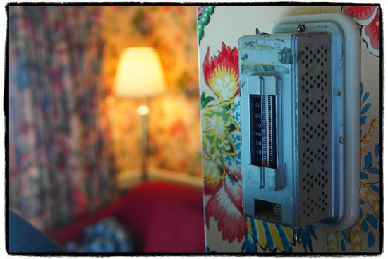 Stafford's Perry Hotel: AC temperature control