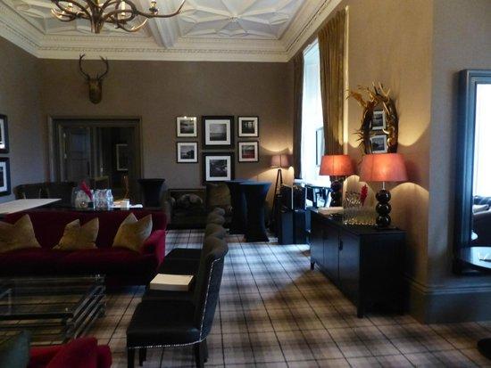 Martin Wishart at Loch Lomond: Hotel interior
