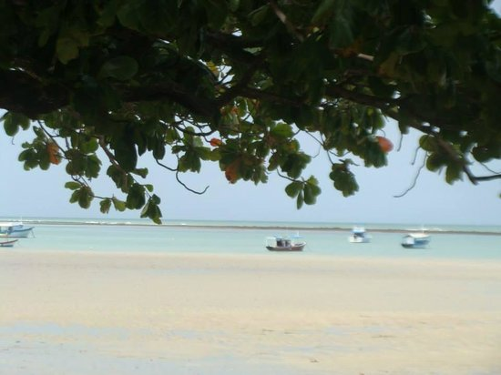 Cumuruxatiba Beach: mar repousante