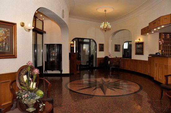Hotel Jelgava: Hall/Reception