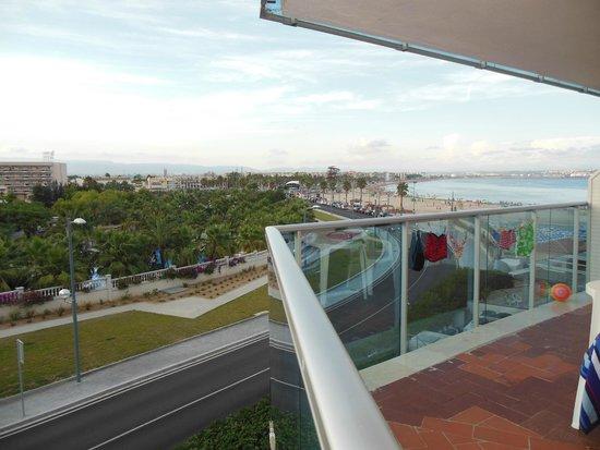 Golden Donaire Beach Hotel : Vue de la chambre