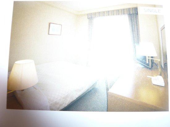 Hotel Mets Kamakura Ofuna: 部屋の内部。あまりよく撮れなかったが。