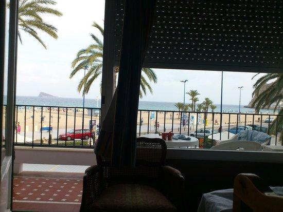 Gran Hotel Delfin : vistas desde la habitación