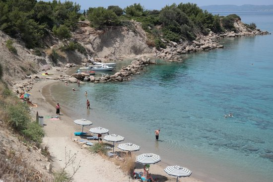 Pefkos Village Resort: Beach (10 minutes walk from the hotel)