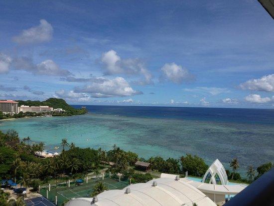 Pacific Star Resort & Spa: 朝の眺めもすがすがしく気持ちいいです。