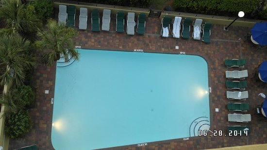 Holiday Inn at the Pavilion : Pool view from the room