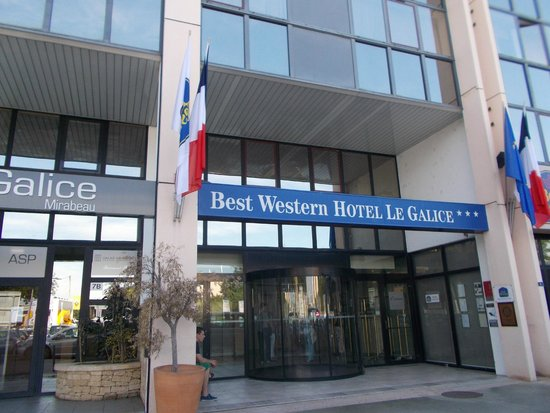 Best Western Hôtel le Galice : Отель