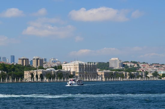 Historic Areas of Istanbul : A view from Bosphorus