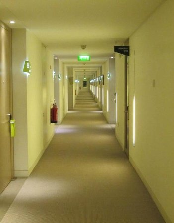 The Gibson Hotel: A massive hotel with many corridors