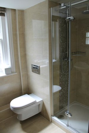 The Drayton Court Hotel: Awesome rain head shower