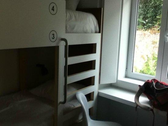 Moon Hill Hostel: Dortoir mixte de 4 lits
