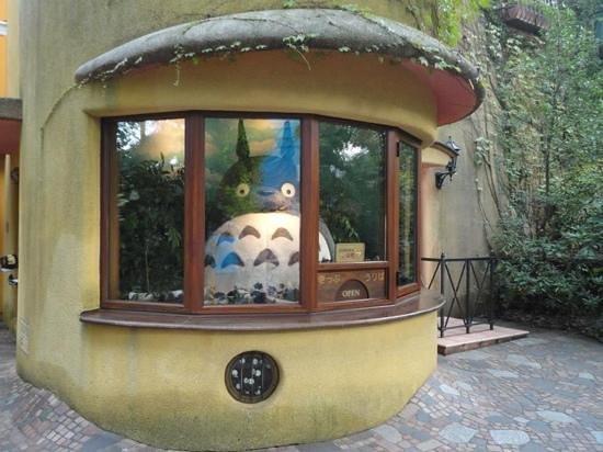 Musée Ghibli : Totoro is welcoming the visitors :)