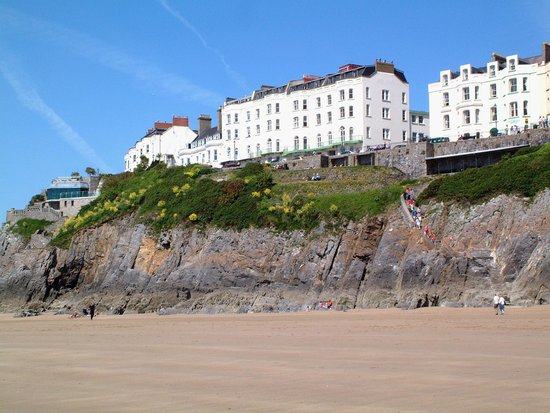 The Clarence House Hotel : View from the sea