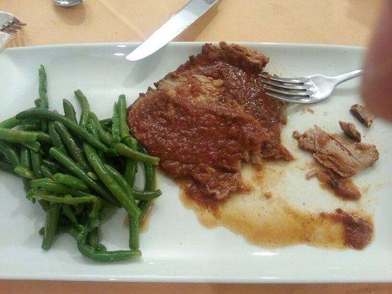Hotel Lo Squalo : Ottima carne