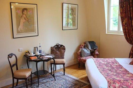 Les Jardins d'Épicure : Coin de la chambre