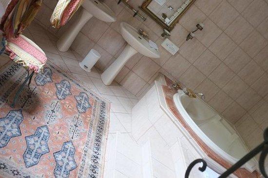 Les Jardins d'Épicure : Salle de bain