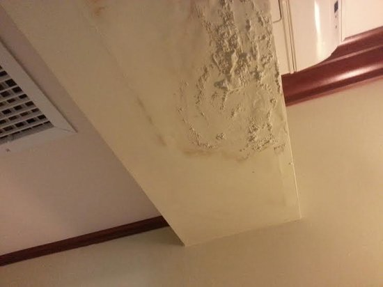 Sandals Royal Caribbean Resort and Private Island: What the wall and ceiling looked like