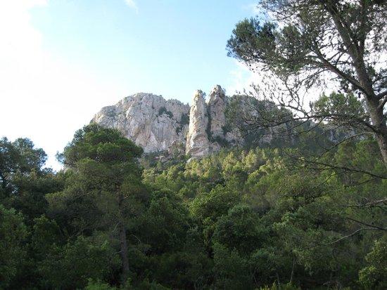 Serra de Tramuntana: View on the way up