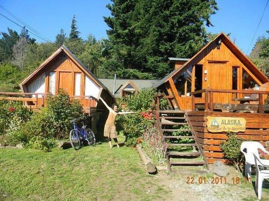 Alaska Hostel: Entrada