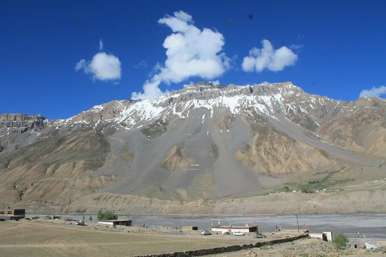 Hotel Spiti: View from the hotel