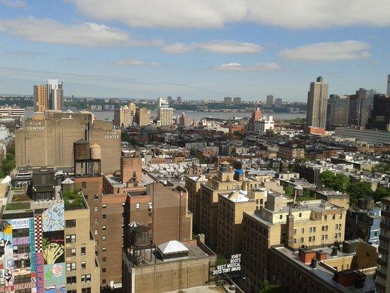 Row NYC Hotel : Vista do quarto