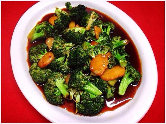 Kum Fong Restaurant : Broccoli in Garlic Sauce