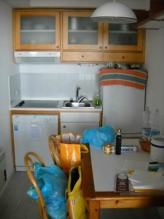 Residence Iselba: zona cucina