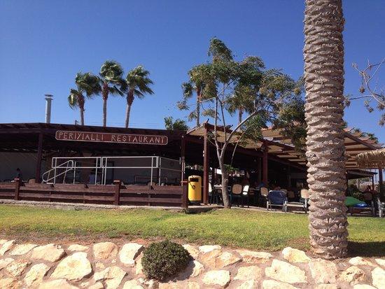 Pavlo Napa Beach Hotel: taken from beach