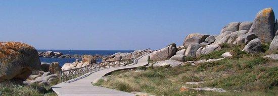 Apartametos Aqualecer: Paseo de San vicente do mar