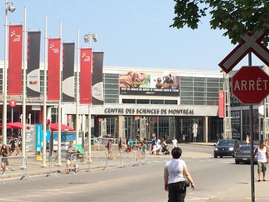 Centre des sciences de Montréal : science center