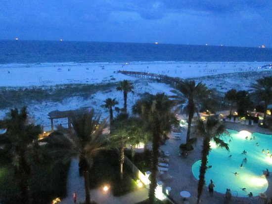 The Beach Club: Evening view from 0604A