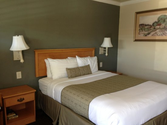 El Castell Motel: Our quirky but cute room