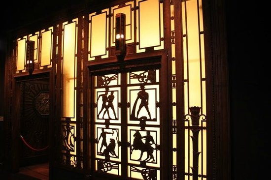Selfridges Art Deco Elevators at the Museum of London