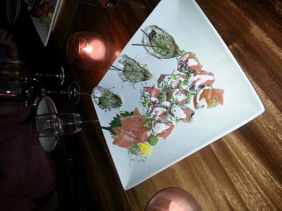 CE LA VI Restaurant: part 1 of tasting menu