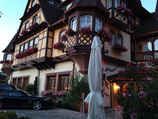 Le Parc Hotel Restaurant & Spa : Hôtel du parc