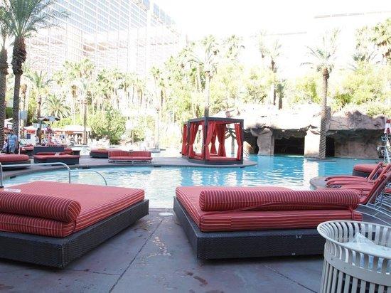 Flamingo Las Vegas Hotel & Casino: Le calme avant la tempéte