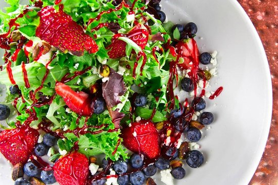 Loxley's: Fresh Berries and Goat Cheese Salad