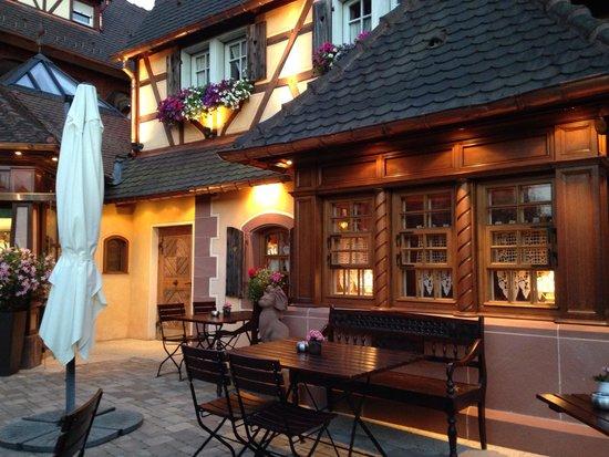 Le Parc Hotel Restaurant & Spa : Terrasse